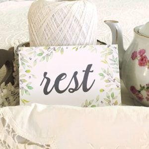 rest-my word for the year - shepherdssongcreations.com